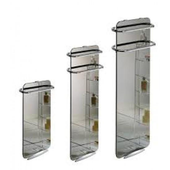 Стъклен лъчист радиатор за баня Campaver bains 1000W огледален