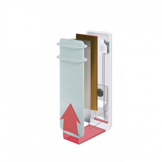 Радиатор за баня Campa Campaver Bains 400+600W (бял)