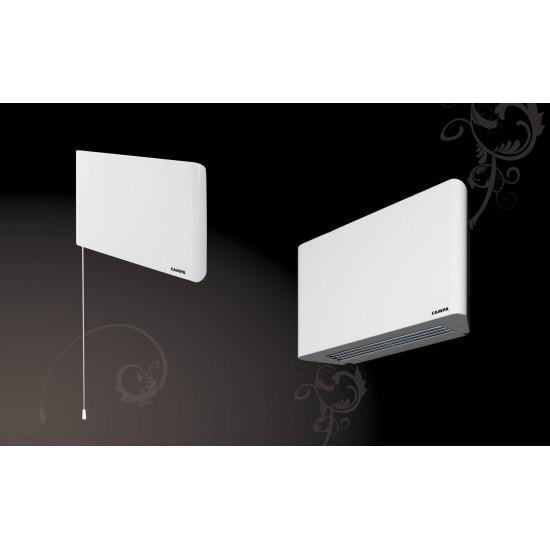 Стенен вентилаторен конвектор Campa ISEO Soufflant 1000W/2000W (с таймер)