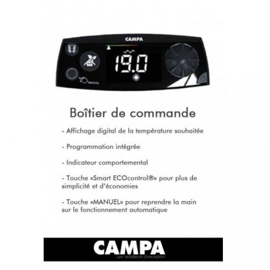 Радиатор за баня Campa ISEO Bains Smart EcoControl 1200W